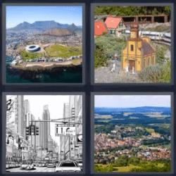 4 fotos 1 palabra edificios