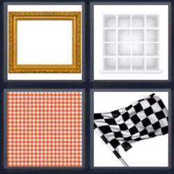 4 fotos 1 palabra marco