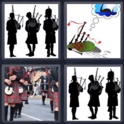 4 fotos 1 palabra escoceses