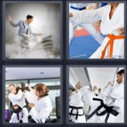 4 fotos 1 palabra artes marciales
