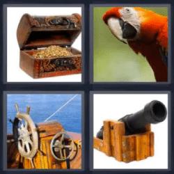 4 fotos 1 palabra tesoro canon