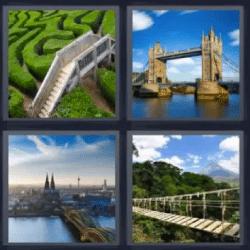 4 fotos 1 palabra torres