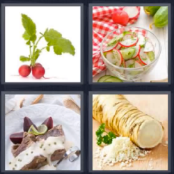 4 fotos 1 palabra fruta
