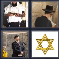 4 fotos 1 palabra religion judía