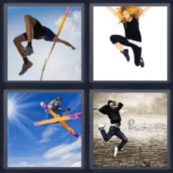 4 fotos 1 palabra esqui