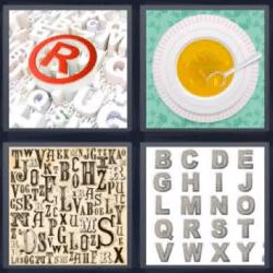 4 fotos 1 palabra sopa de letras