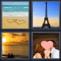4 fotos 1 palabra torres de París