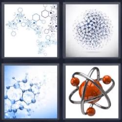 4 fotos 1 palabra partículas