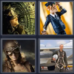 4 fotos 1 palabra piloto