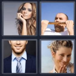 4 fotos 1 palabra de 8 letras