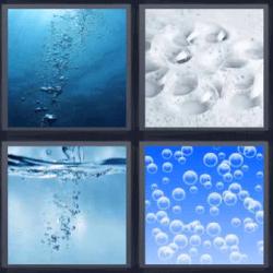 4 fotos 1 palabra agua