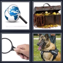 4 fotos 1 palabra tesoro
