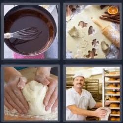 4 fotos 1 palabra harina