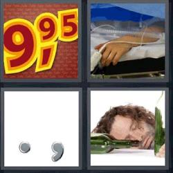 4 fotos 1 palabra precio