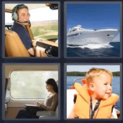 4 fotos 1 palabra yate piloto