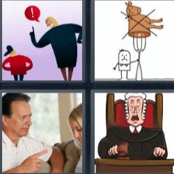 4 Fotos 1 palabra 8 letras respuestas