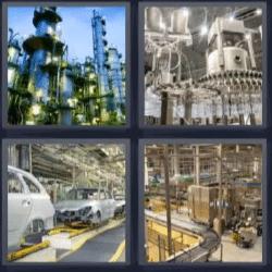 4 fotos 1 palabra maquinaria fabricacion