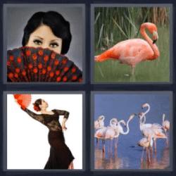 4 fotos 1 palabra abanico