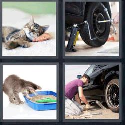 4 fotos 1 palabra rueda