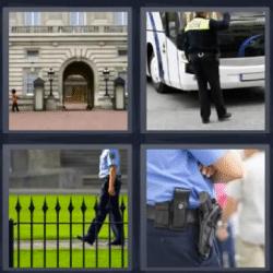 4 fotos 1 palabra policias