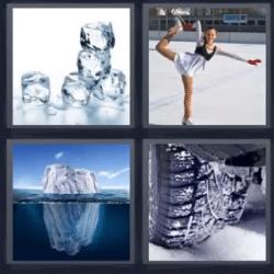 4 fotos 1 palabra cubitos