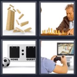 4 fotos 1 palabra ajedrez