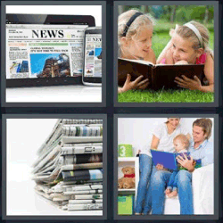 4 fotos 1 palabra periódicos