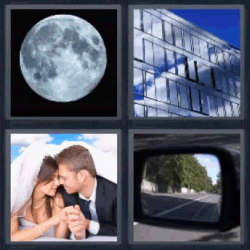 4 fotos 1 palabra espejo
