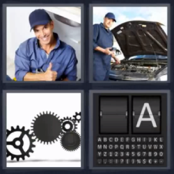 4 fotos 1 palabra engranaje