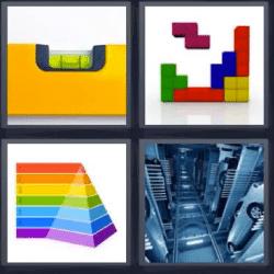 4 fotos 1 palabra tétris