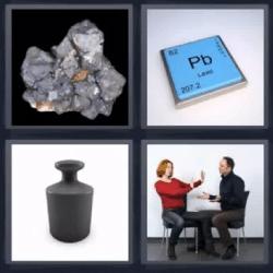 4 fotos 1 palabra mineral