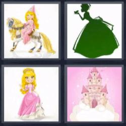 4 fotos 1 palabra castillo princesa