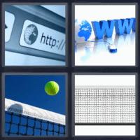 4 fotos 1 palabra www http