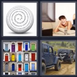 4 fotos 1 palabra pelota