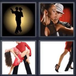 4 fotos 1 palabra baile