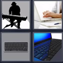 cuatro fotos una palabra ayuda