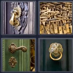 4 fotos 1 palabra manijas picaporte puertas aqu tienes