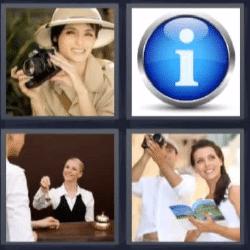 4 fotos 1 palabra fotografa informacion