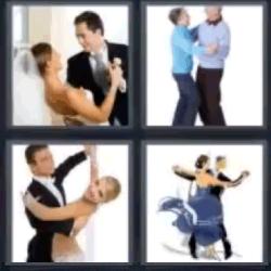 4 fotos 1 palabra bailar