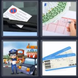 4 fotos 1 palabra loteria