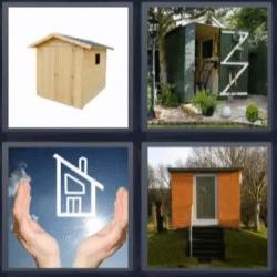 4 fotos 1 palabra casa madera