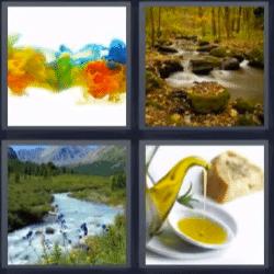 4 fotos 1 palabra rios