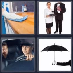 4 fotos 1 palabra chofer