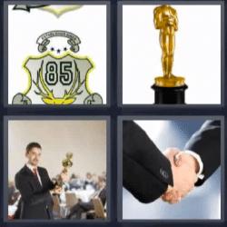 4 fotos 1 palabra Óscar