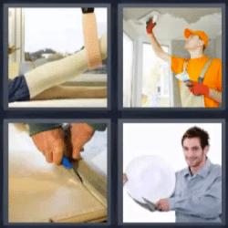 4 fotos 1 palabra pintor