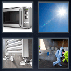 4 Fotos 1 palabra radiador