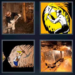 4 fotos 1 palabra obrero