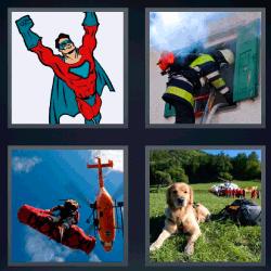 4 fotos 1 palabra helicoptero