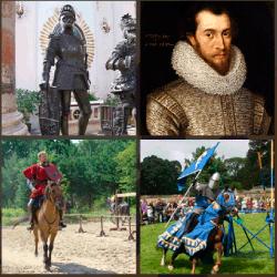 1 palabra 4 fotos soldado medieval