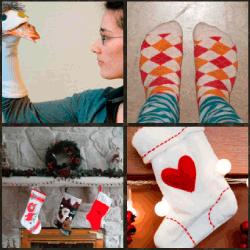 1 palabra 4 fotos calcetines de rombos